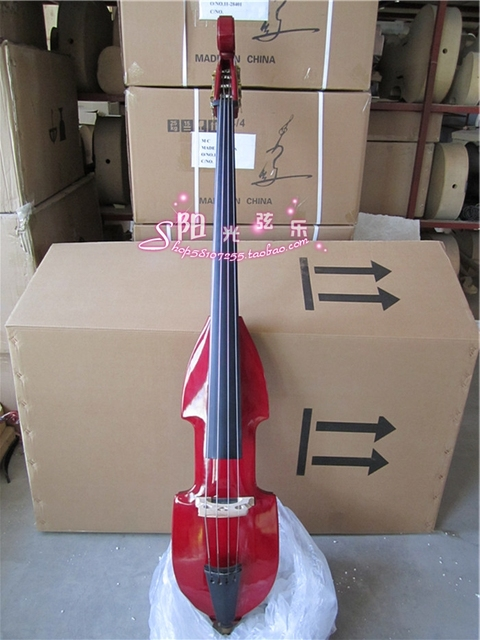 Quality Top Model 4 String Electric Pucker Upright Bass 4/4