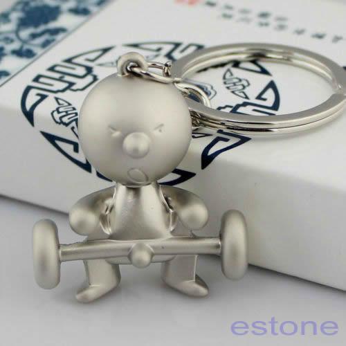 Creative Classic Mr.P Boy Keychain Key Chain Ring Key Fob Funny Gift(China (Mainland))
