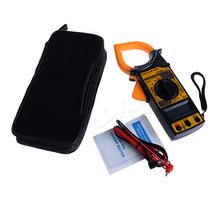 A96 Free Shipping Digital Voltmeter Ammeter Ohmmeter Multimeter AC DC Volt Tester Clamp Meter
