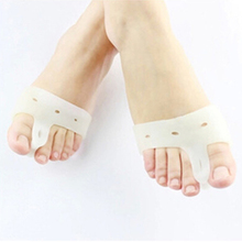 Hot sela Fashion 1 Pair Foot Care Special Hallux Valgus Bicyclic Thumb Orthopedic Braces to Correct Daily Silicone Toe Big Bone(China (Mainland))