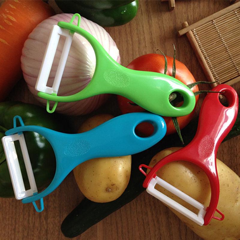 Ceramic Vegatable Slicer Cutter Peeler Potato Apple Fruit Kitchen Utility Tool(China (Mainland))