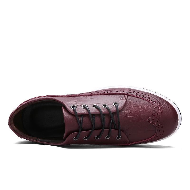 Британский стиль 2016 весной новые натуральная кожа мужчины акцентом резные кружева-up баллок бизнес люди оксфорды обувь мужская обувь