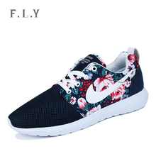 Men Women casual sports sneakers Fashion new spring Unisex Printed Mesh shoes Outdoor running lovers loafers Plus size PX0164(China (Mainland))