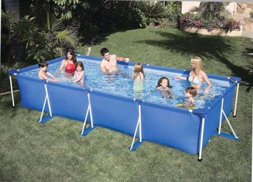 Buy rectangle swimming family pool for Square above ground pool