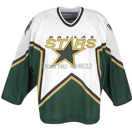 Customize WHITE-Green Dallas Stars Jerseys personalized - Custom Number &amp; Name Sewn On XXS-6XL Cheap ICE Hockey Jersey China<br><br>Aliexpress