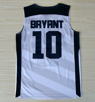 #10 Bryant Jersey,2012 Olympic Games,New Material Rev 30 Basketball jersey,Embroidery Stitched logo,Dream Team(China (Mainland))
