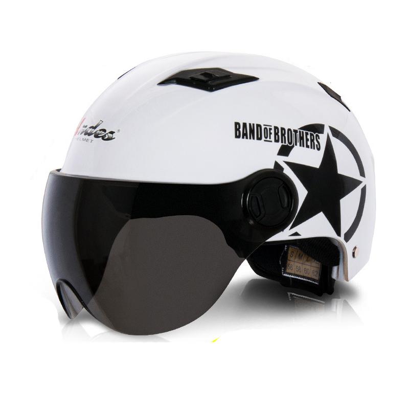 Lady Motorcycle Helmet Girl Motorbike Open Face Helmet Halley Design Adjustable Head Size(China (Mainland))