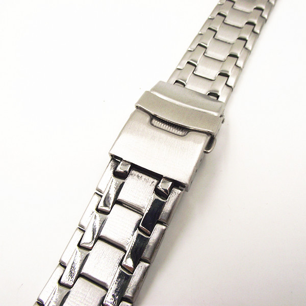 1PCS High quality 18MM Stainless Steel Watch band Watch strap metal - 082702(China (Mainland))