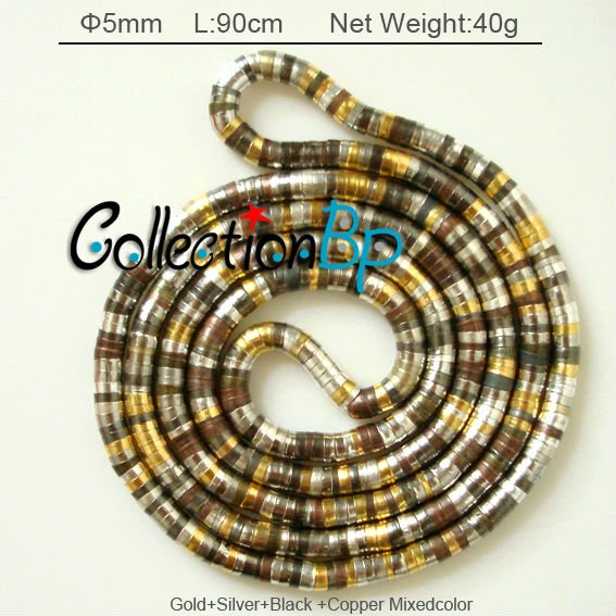 17/pcsGold+Silver+Black+Copper plated Mixed Bendy Necklace Twistable Flexible Bendable Necklace Bendy Snake Necklace(China (Mainland))