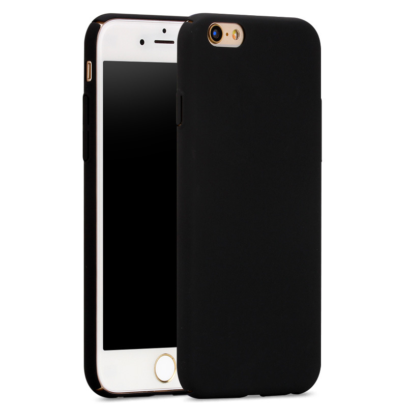 For iPhone 6 Case Fashion Rubberized Matte Frosted Plastic Case For iPhone 6S 6 Plus 6S Plus Cover Cell Phone Cases(China (Mainland))