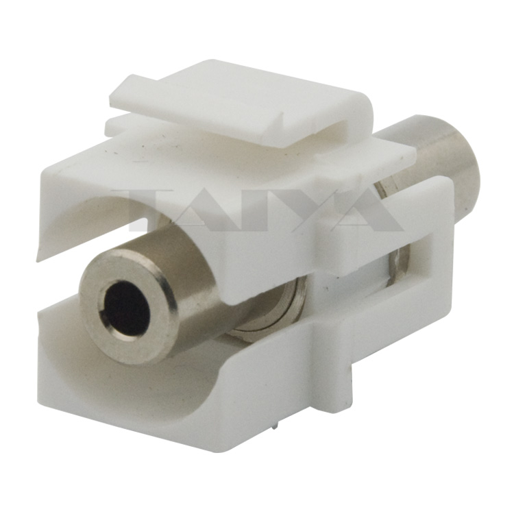 new style keystone 3.5mm stereo audio connector(China (Mainland))