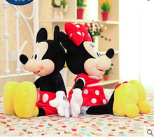 1pcs New arrival Hot sale 70cm Mickey Mouse And Minnie Mouse Stuffed Animals Plush Toys For Children's GiftFree Shipping(China (Mainland))