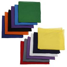 Wholesale Price Plain Bandana Head Wear Headband Fashionable Cotton Scarf Size 54x54cm For Gift(China (Mainland))
