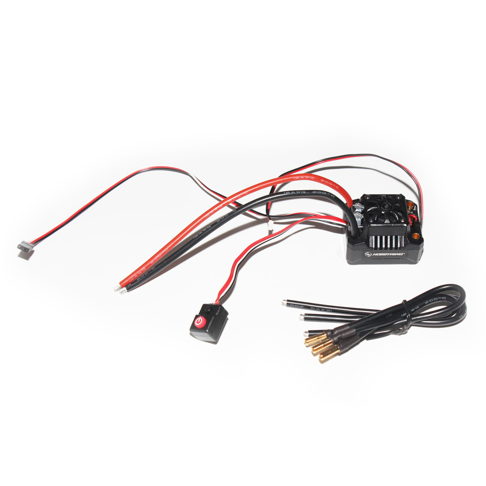 Hobbywing EZRUN MAX10 SCT BEC Waterproof 2-4S Speed Controller Brushless ESC for 1/10 RC Car Truck F17812(China (Mainland))