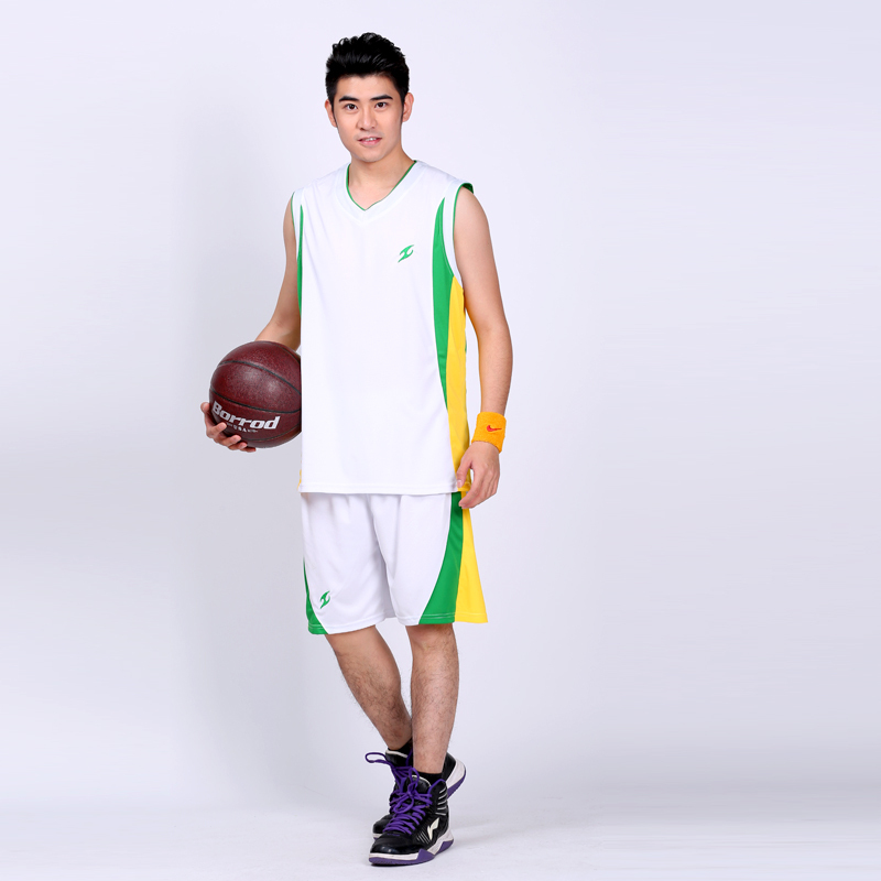 Free shipping new summer 2015 men's sleeveless basketball jerseys, breathable quick-drying can be customized basketball uniforms(China (Mainland))