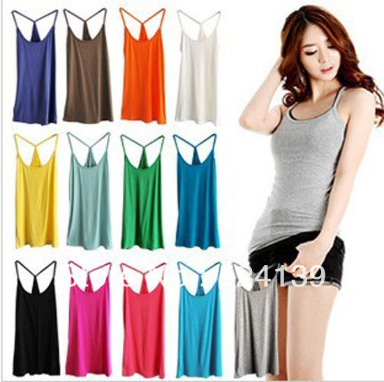 2013 Fashion Summer Hot  women' Thread Vest Underwaist Vest Free Shipping BX01