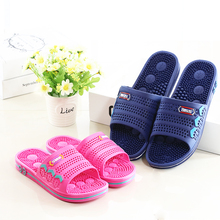 shoes woman 2015 New comfortable pantufa slippers summer massage lovers home slippers non-slip bathroom slippers men shoes