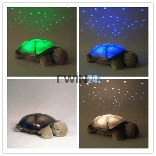 30 x Turtle Night Light Kid Baby Twilight Sleep Toy Stars Constellation Led Lamp Baby Care Lighting(China (Mainland))
