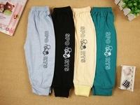 Sweatpants Cotton trousers Spring Summer Boys and girls Long Pants sport suit baby baby Leggings pants 9 colors wholesale