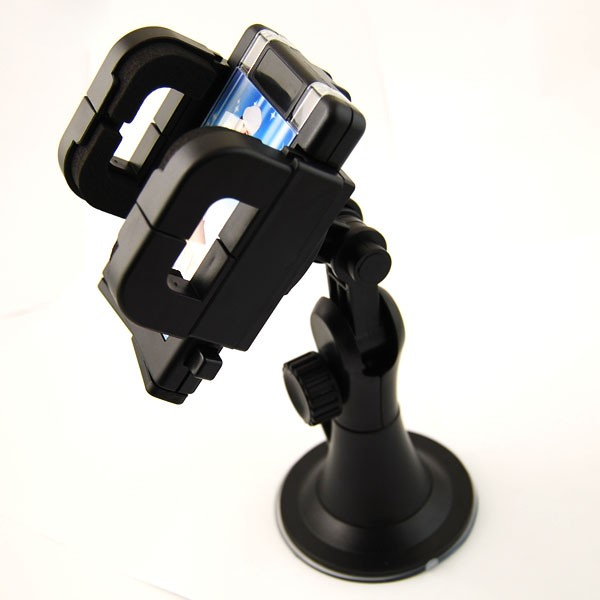 Universal Durable 360 Degree Rotating & Stretchable Car Mount Holder for iPhone MP3 GPS PDA HTC Samsung(China (Mainland))