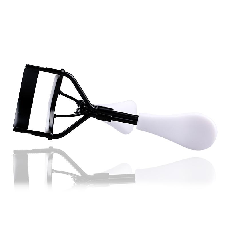 High Quality New Ladies Makeup Eyelash Curler Black White Handles Random Delivery 1pcs(China (Mainland))