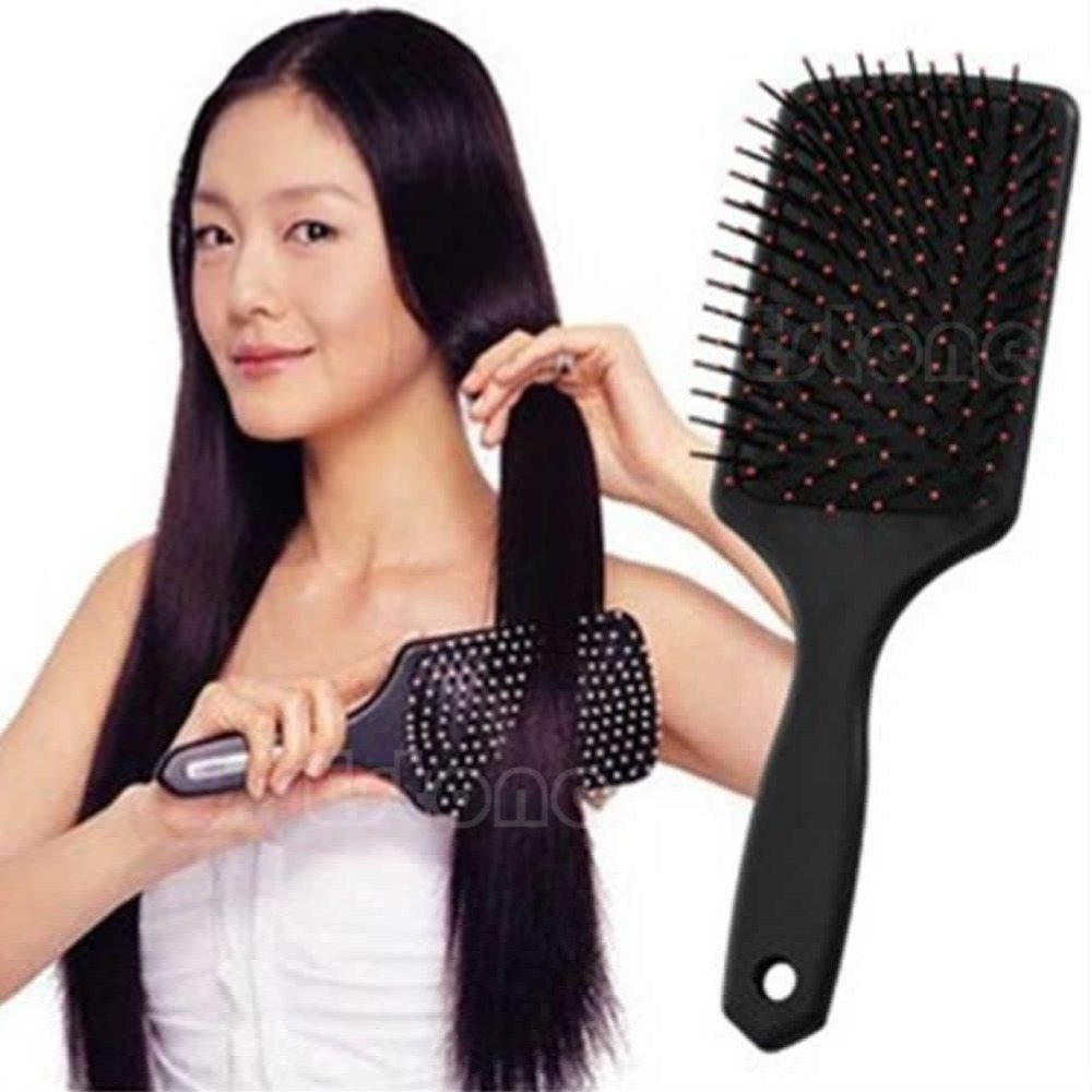 Z101--Professional Healthy Paddle Cushion Hair Loss Massage Brush Hairbrush Comb Scalp free shipping(China (Mainland))