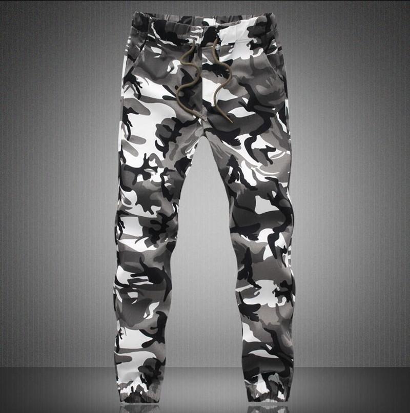 M-5X 2016 Mens Jogger Autumn Pencil Harem Pants Men Camouflage Military Pants Loose Comfortable Cargo Trousers Camo Joggers(China (Mainland))