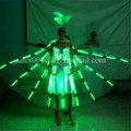 Fashion Colorful Led Luminous Evening Party Dress Sexy Women Light Up Stage Performance Costumes For Club