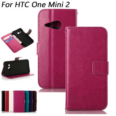 M8mini Retro Wallet Leather Case For HTC One Mini 2 M8 Noble Phone Bag Cover with Stand Card Holder Vintage Style(China (Mainland))