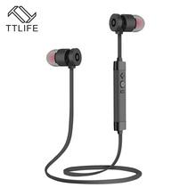 TTLIFE Brand Metal Stereo Auriculars Bluetooth Earbud Headset Earphone Wireless Sports Headphones For iPhone 7 Plus Smartphones(China (Mainland))