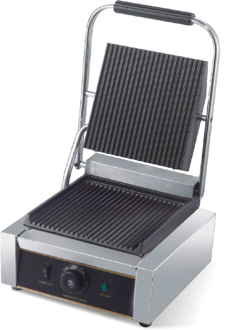 Electric Grill With Removable Plates ~ Single plate panini grill electric contact with