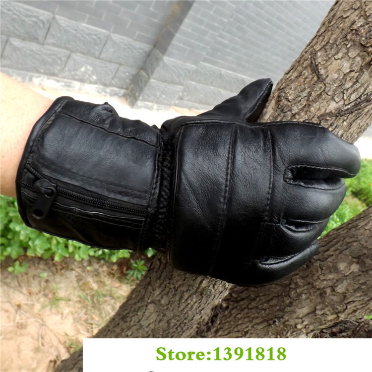 S130A Free Sihpping Riding Snowboard Cashmere Motorcycle Hockey gloves Ski Sport Gloves Double Water-proof Long(China (Mainland))