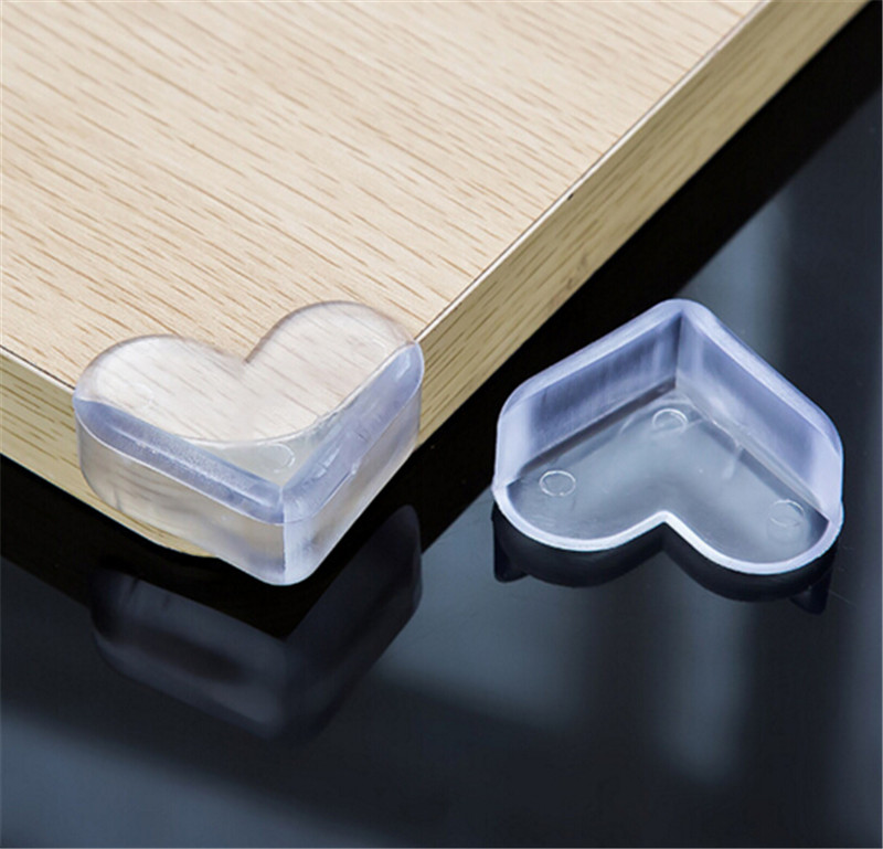 4pcs Children Protection Baby Safety Products Glass Table Edge Furniture Horror Crash Bar Corner Foam Bumper Collision 4N1352(China (Mainland))