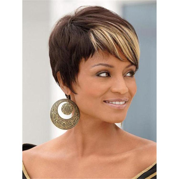 Blonde highlights for short black hair trendy hairstyles in the usa blonde highlights for short black hair pmusecretfo Image collections