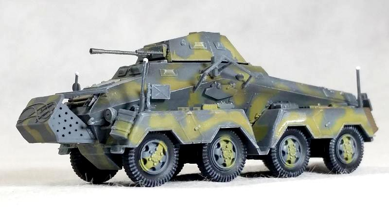 DRAGON 1:72 World War II Germany Sd.Kfz.231 eight 23 wheeled armored vehicle model 60600 Static collection model<br><br>Aliexpress