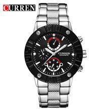 Curren 8006 luxury brand luxury imported quartz movement waterproof alloy wrist watches men