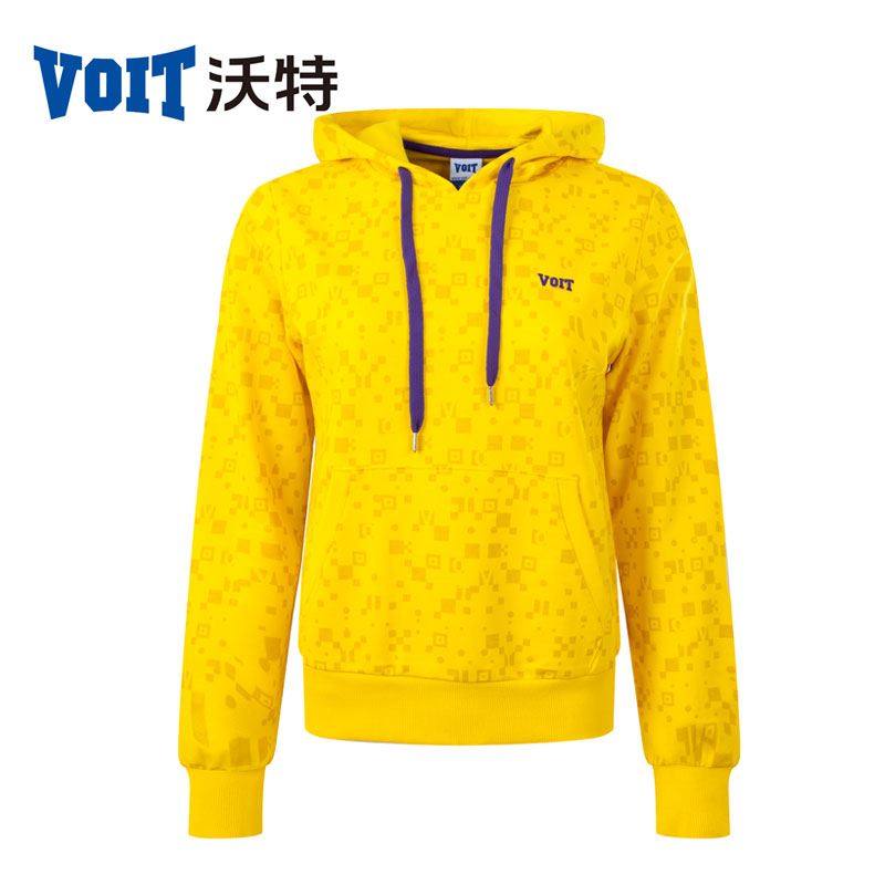 Voit Women's 2016 sports leisure fleece hooded sweater Running Jogging Fitness Workout breathable fashion jacket coat 131217205(China (Mainland))