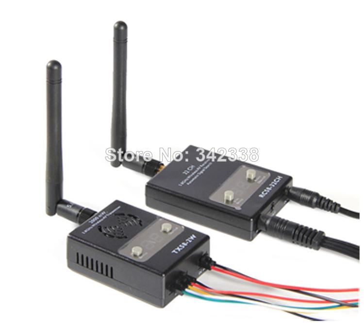 2014 NEW Boscam FPV 5.8GHz 2000mw 32 Channels Wireless AV Transmitter TX58-2W Receiver RC58-32CH system - Model King store