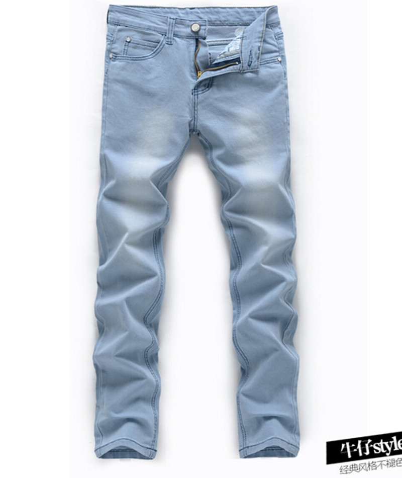 Light Blue Denim Jeans Mens - Is Jeans