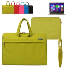 """For Toshiba Satellite Click 2 L30W/ 2 Pro L35W 13.3"""" Computer Sleeve Laptop Bag Canvas Fabric Briefcase Travel Carrying Case"""