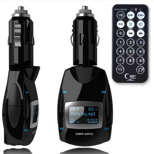 50pcs/lot 2016 new Wireless FM Modulator Car MP3 Music Player Support SD Card usb flash FM transmitter Free shipping(China (Mainland))