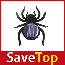 full new [SaveTop] Educational Solar Powered Black Spider Toy Gadget Kids Latest Style(China (Mainland))