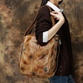 2017 Summer Multifunctional Women Leather Bag One Shoulder Or Double Shoulder Bags High Capacity Overnight Travel