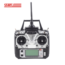 FlySky FS-T6 T6 2.4g Digital Proportional 6ch Channel Transmitter and Receiver System LED Screen for RC Helicopter drone QAV250