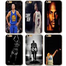 Buy Basketball Superstar Jordan Wade Curry Bryant Phone Cases iphone 5 Xiaomi Redmi 4 Pro 3S Huawei P8 P9 Lite Meizu U10 U20 for $1.29 in AliExpress store