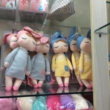40cm New Hot METOO Plush Doll animals Angela plush Stuffed toys Sleeping Dolls 1pcs Children Christmas Birthday Gifts