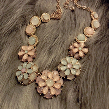 New Statement Choker Fashion Charms Crystal Cubic Zircon Diamond Collar Rhinestone Necklaces&Pendants Women Jewelry Colares A229(China (Mainland))