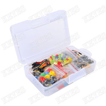 Buy Starter Kit Arduino Resistor /LED / Capacitor / Jumper Wires / Breadboard resistor Kit Retail Box for $9.39 in AliExpress store