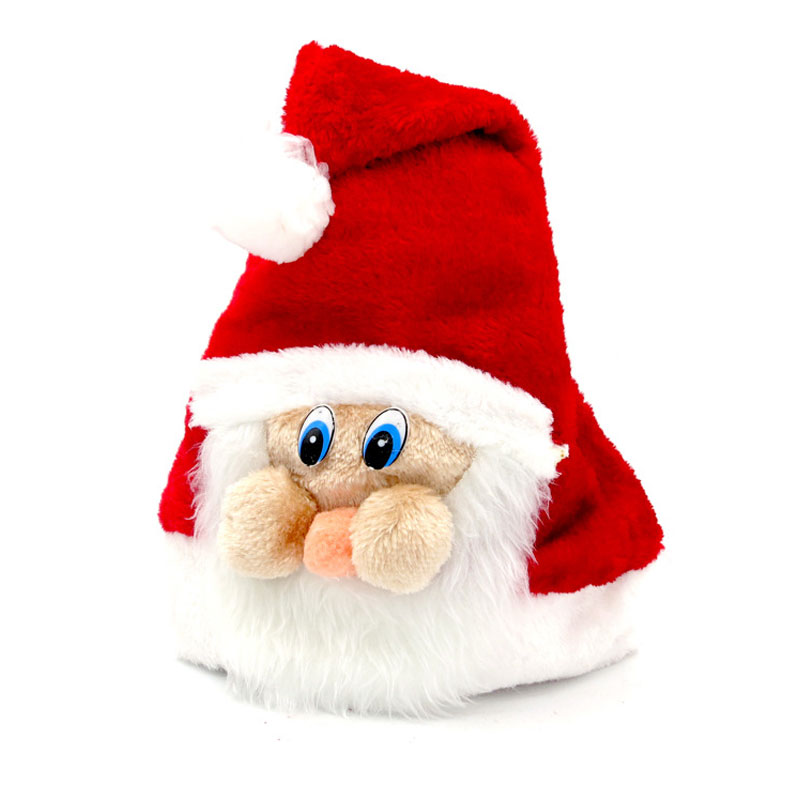 Christmas Hats Santa Reindeer Christmas Decorations Supplies Ornaments Party Hat Christmas Cute Hat Toy Gift For Children Adult(China (Mainland))
