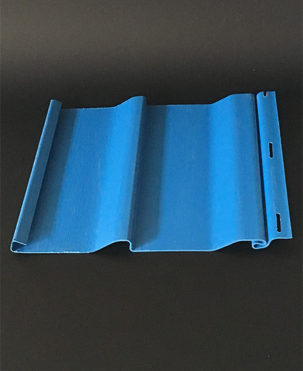 pvc panels the deep blue seaside decorative board High temperature resistant easy to clean outer wall hangs Plastic Profiles(China (Mainland))